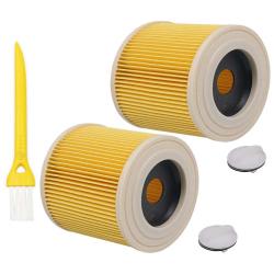 2 Patronen-Filter kompatibel zu Kärcher 6.414-552.0, 6.414-772.0, 6.414-547.0 UND 9.755-260.0