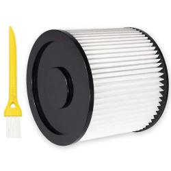 Filter - Lamellenfilter Auswaschbar für WorkZone Nass- Trockensauger 25 Liter Volumen (LF 1) kompatibel