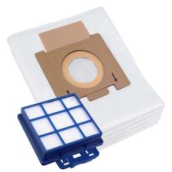 10 Staubsaugerbeutel mit Filter Set für Hoover Telios Extra TX80PET 011 kompatibel