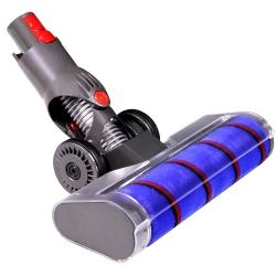 Turbodüse mit DYSON V7, V8, V10, V11, V12, SV10, SV11 kompatibel, elektrische Soft-Bürste