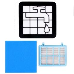 Filter-Set für Philips FC8010/01, FC9331/09 FC9332/09 PowerPro Compact kompatibel