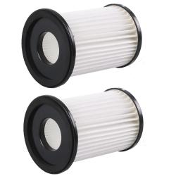 2 Hepa Filter für Cleanmaxx Akku-Zyklon-Staubsauger kompatibel Handstaubsauger