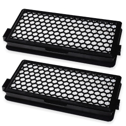 2 HEPA-Filter für Miele C1 C2 C3 S8340 +3 Air Clean Plus S4000 S5000 S6000 S8000