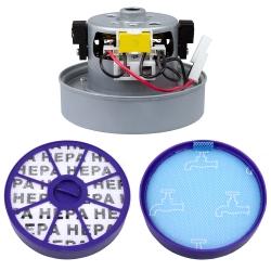Motor / Filterset, 1 Vormotor, 1 Hepa Filter für Dyson DC19, DC20, DC21 und DC29 kompatibel