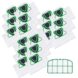 18 Staubsaugerbeutel mit Filter für Vorwerk Kobold VK 200 kompatibel