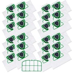 24 Staubsaugerbeutel mit Filter für Vorwerk Kobold VK 200 kompatibel